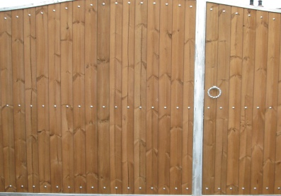 Wood Clad and Composite Gates
